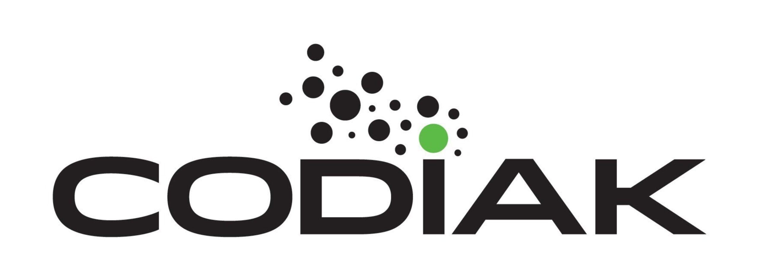 CODIAK logo (PRNewsFoto/Codiak BioSciences Inc.)